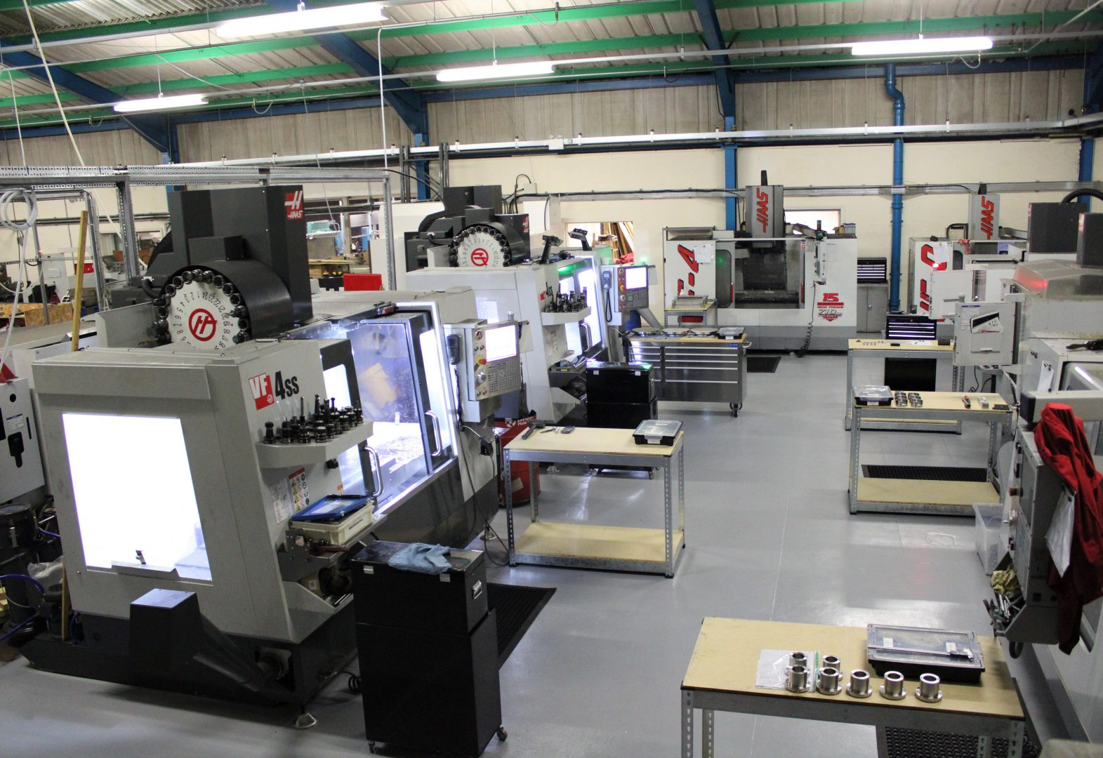 Precision Engineering Factory Floor | I&G Engineering