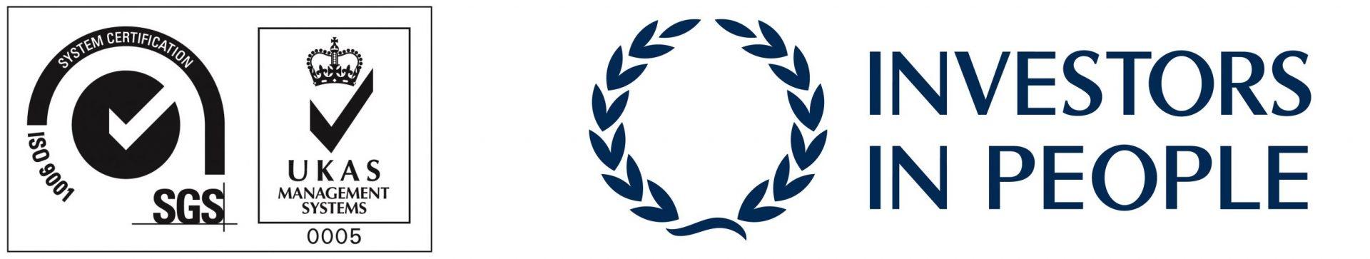 UKAS & Investors in People Logos