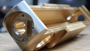 Copper CNC Milled Component