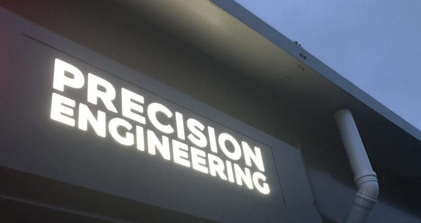 I&G Engineering Factory Sign
